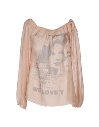 La Fee Maraboutee Shirts Blouses Women Light Pink