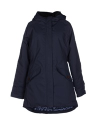 Elvine Coats Dark Blue