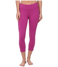 Prana Ashley Capri Legging Vivid Viola Women's Capri Pink