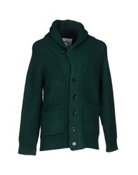 Ovadia And Sons New York Knitwear Cardigans Men Emerald Green