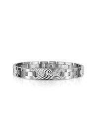 Just Cavalli Touch Signature Bracelet Silver
