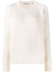 Vince Crew Neck Jumper White