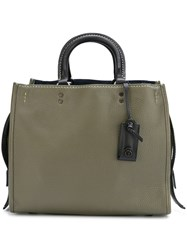 Coach 'Rogue' Tote Bag Green