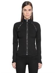 Callens Viscose Jersey Removable Sleeve Jacket
