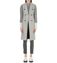 Rag And Bone Faye Wool Blend Gilet Grey
