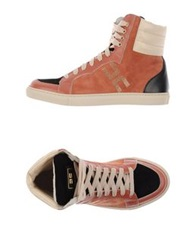Elisabetta Franchi High Tops And Trainers Light Brown