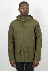 Ymc Nylon Cotton Fisherman Parka Olive Ideology Boutique