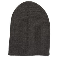 John Lewis Kin By Ribbed Beanie Hat Grey