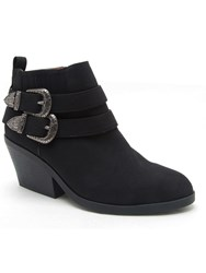 Qupid Zora Buckle Boot Black