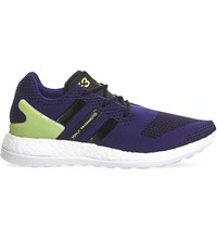 Adidas Y3 Y3 Pure Boost Knitted Trainers Collegiate Purple