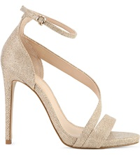 Carvela Gosh Gold Sequin Sandals