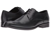 John Varvatos Luxe Dress Oxford Black Men's Lace Up Casual Shoes