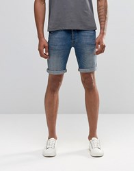 Minimum Denim Shorts Blue