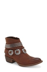 Women's Coconuts By Matisse 'Hawthorne' Embellished Bootie Brown