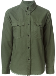 Isabel Marant Button Down Collar Shirt Green