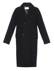 Lemaire Shawl Collar Wool Coat