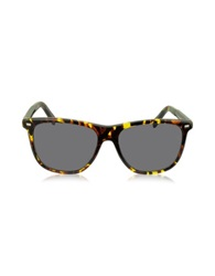 Ermenegildo Zegna Ez0009 54A Yellow And Brown Acetate Men's Sunglasses