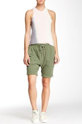 James Perse Slouch Sweatshort Green