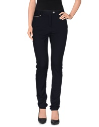 Alexis Mabille Casual Pants Dark Blue
