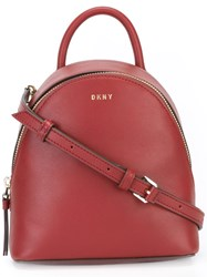 Dkny Mini Backpack Red
