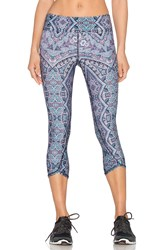 Gypsy 05 Physique Crop Legging Blue