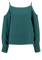 Mintandberry Blouse June Bug Dark Green
