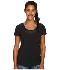 Lole Kesha Short Sleeve Top Black Women's Short Sleeve Pullover