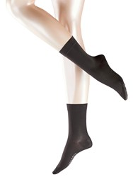 Falke Cotton Touch Ankle Socks Anthracite