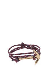 Miansai Anchor Gold Rope Bracelet