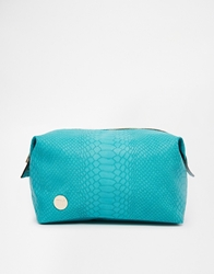 Mi Pac Python Teal Make Up Bag Pythonteal