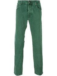 Jacob Cohen Relaxed Fit Jeans Green