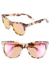 Wildfox Couture 'Catfarer Deluxe' 55Mm Sunglasses Antique Leaves