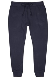 Alternative Apparel Navy Organic Terry Jogging Trousers