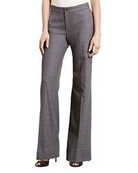 Ralph Lauren Stretch Wool Flare Pants Foster Grey Heather