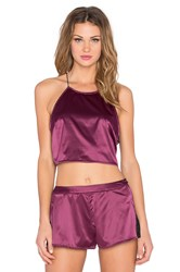 Lovers Friends Visionary Top Burgundy