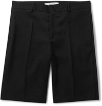 Givenchy Wool Twill Shorts Black