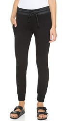 Solow French Terry Joggers Black