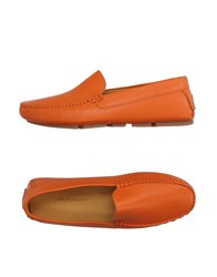Alberto Moretti Footwear Moccasins Men Orange