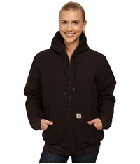 Carhartt Sandstone Active Jacket Dark Brown Women's Coat