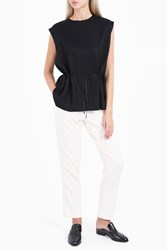 The Row Lilly Top Black