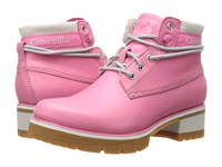 Caterpillar Casual Stopwatch Pink Women's Lace Up Boots