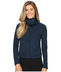 New Balance Fashion Jacket Galaxy Women's Coat Navy