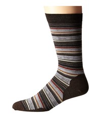 Smartwool Margarita Chestnut Men's Crew Cut Socks Shoes Brown