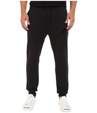 Converse Rib Bottom Fleece Pants Black Men's Casual Pants