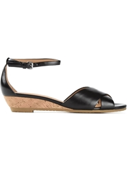 Marc By Marc Jacobs Low Wedge Sandals Black