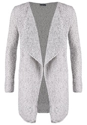 Tom Tailor Cardigan Dark Silver Grey Beige