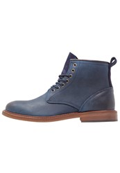 Pier One Laceup Boots Dark Blue