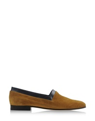 C.B. Made In Italy Moccasins Ocher