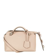 Fendi Mini By The Way Boston Embellished Bag Female Pink