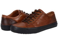 Frye Grand Low Lace Cognac Smooth Vintage Leather Men's Lace Up Casual Shoes Brown